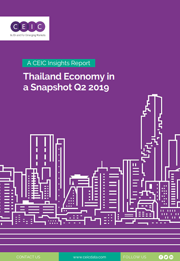 Thailand Economy in a Snapshot Q2 2019' report
