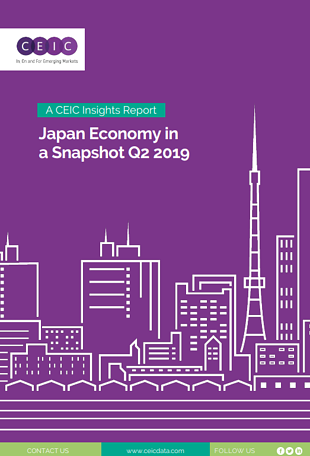 'Japan Economy in a Snapshot Q2 2019' report