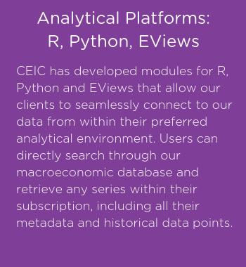 CEIC analytical platforms (2)