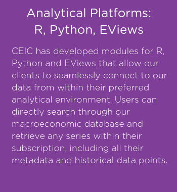 CEIC analytical platforms (2)